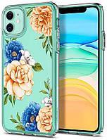 Чохол Spigen для iPhone 11 Ciel, Blue Floral (076CS27530)