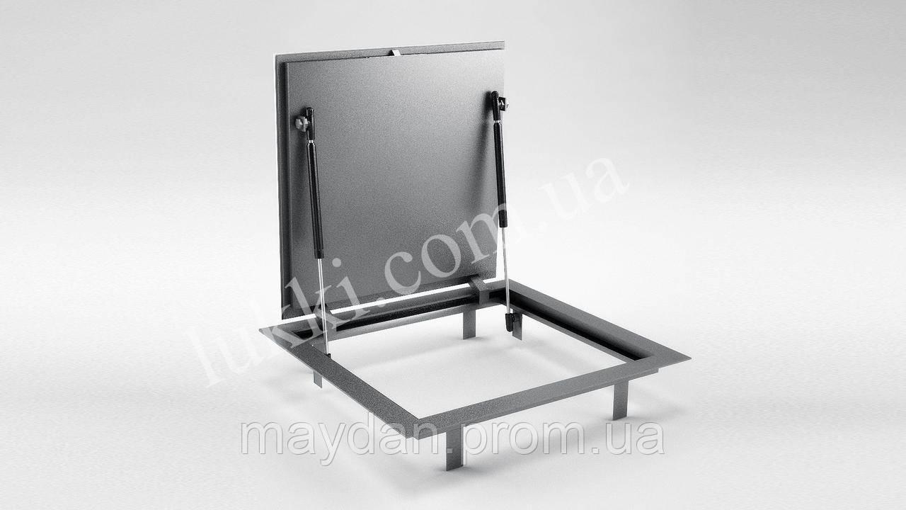 Ревизионный напольный люк под плитку Lukki Elite+ 800х700  мм