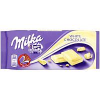 Шоколад Milka White Chocolate (100 Г) Германия