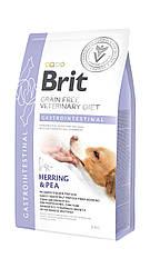 Сухой корм для собак Brit Veterinary Diet Dog Gastrointestinal при острых и хронических гастроэнтеритах 2кг