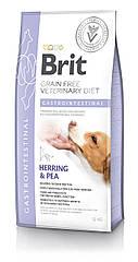 Сухой корм для собак Brit Veterinary Diet Dog Gastrointestinal при острых и хронических гастроэнтеритах 12кг