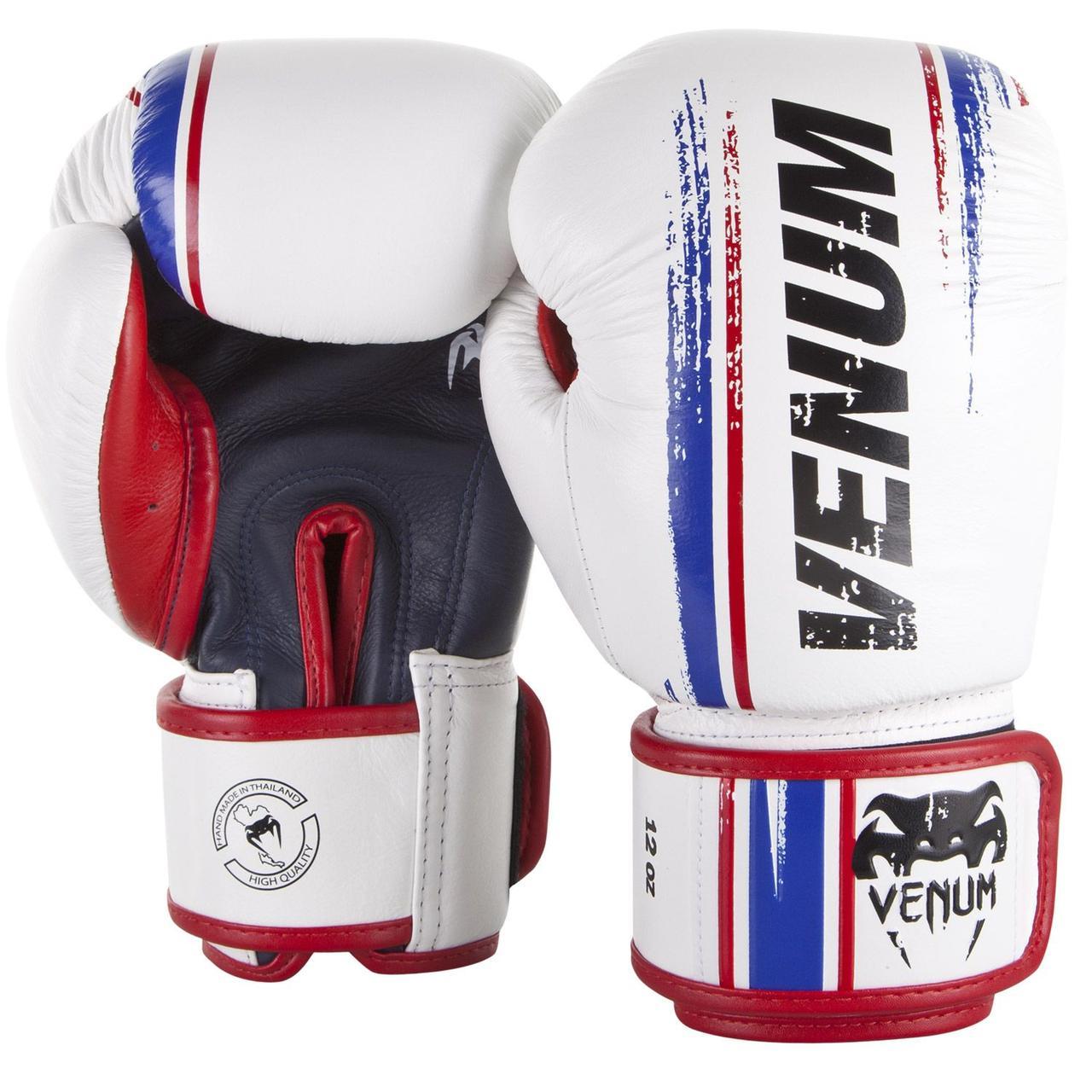 Боксерские перчатки Venum Bangkok Spirit Boxing Gloves White