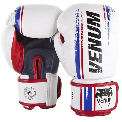 Боксерские перчатки Venum Bangkok Spirit Boxing Gloves White, фото 2
