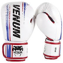 Боксерские перчатки Venum Bangkok Spirit Boxing Gloves White, фото 3