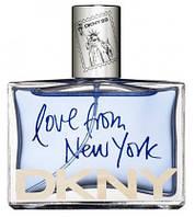 80 мл Туалетная вода  DKNY Love from New York (М)