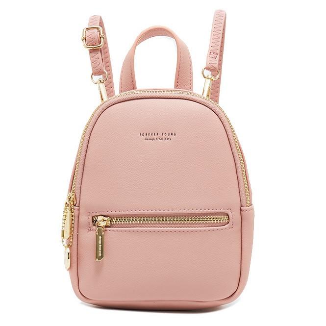 Небольшая женская сумочка-рюкзачок Pierre Loues PL931-5 из экокожи, с двумя карманами, 3л