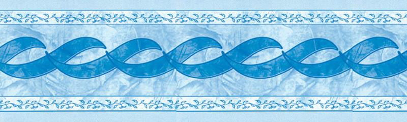 Фріз Olympia blue (Олімпія блу), DEL Франція для оздоблення ватерлінії в басейнах з лайнеру