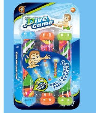 Игрушка для обучения нырянию 3-в-1, свет, YG26S