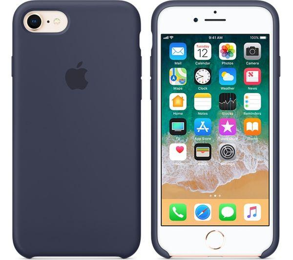 """Apple silicon case iPhone 7/ iPhone 8  """"Midnight Blue"""""""