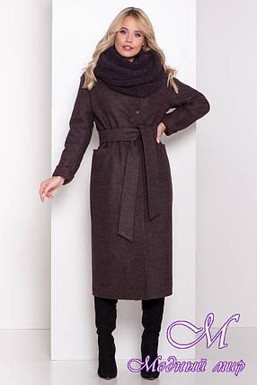 Длинное женское зимнее пальто (р. S, М, L) арт. В-83-41/44495, фото 2