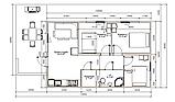 Модульный дом с террасой (64м2 + 20м2), фото 4