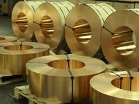 Лента бронзовая толщиной 0,1 - 2,0 мм