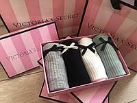 Подарочный набор женского нижнего белья трусики слипы Victoria's Secret Pink Виктория Сикрет пинк