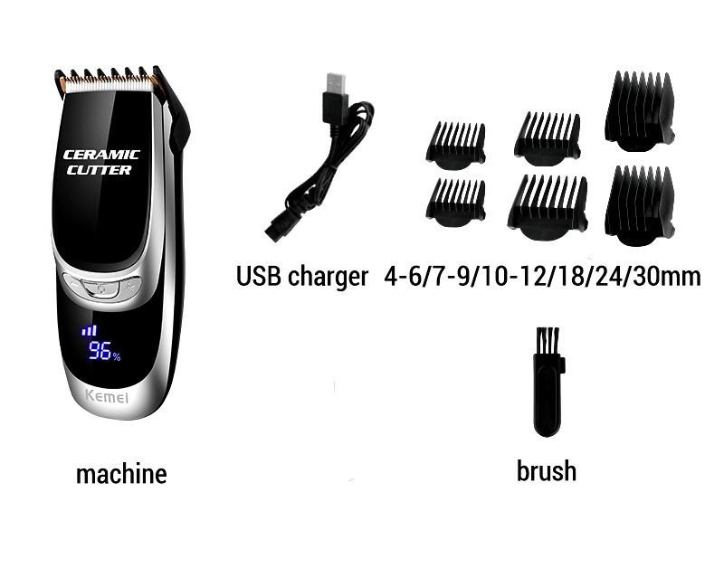 Професійна Машинка для стрижки волосся Kemei km-6035