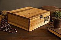 Подарочная коробочка из дерева XL, EcoWalnut