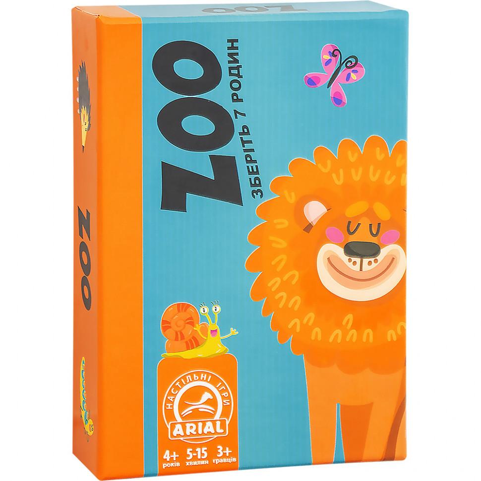 Настольная игра Arial Зоо 911326, настолка, подарок