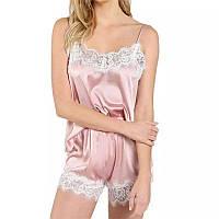 """Легкая атласная пижама """"Alison """""""