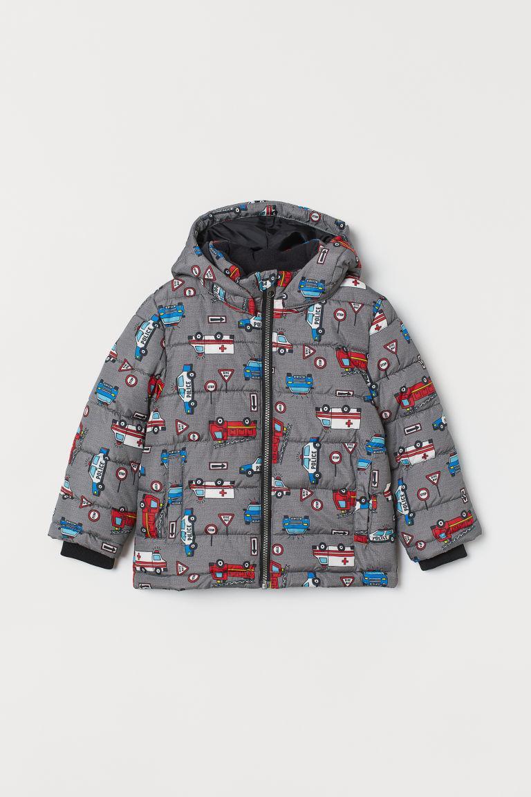 Куртка детская серая H&M  р.128см. (7-8лет)