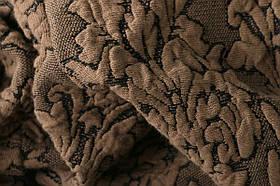 Чехол на диван и два кресла Жаккард Коричневый Milano Karna Турция 50033, фото 3