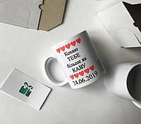 Индивидуальные чашки с надписью , фото , картинкой !