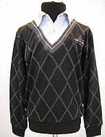 Рубашка-обманка с пуловером для мальчиков 128,140,152,164 роста