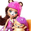 Набор Enchantimals Спальня мечты и кукла Брен Медведь FRH46, фото 4