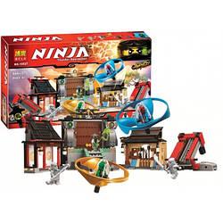 Конструктор BELA  Ninjago, строение, фигурки, 695дет, 10527
