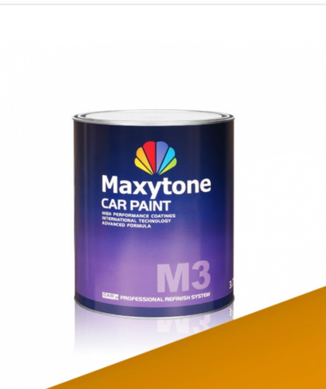 Акриловая краска 2K Acryl Autolack RAL 1006 кукурузно-желтая «MAXYTONE»