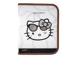 "Папка объемная на молнии, В5 ""Hello Kitty Diva"", ТМ Kite,  HK13-203-2К"