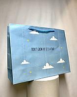 Пакет подарочный маленький #7(32*24*10)