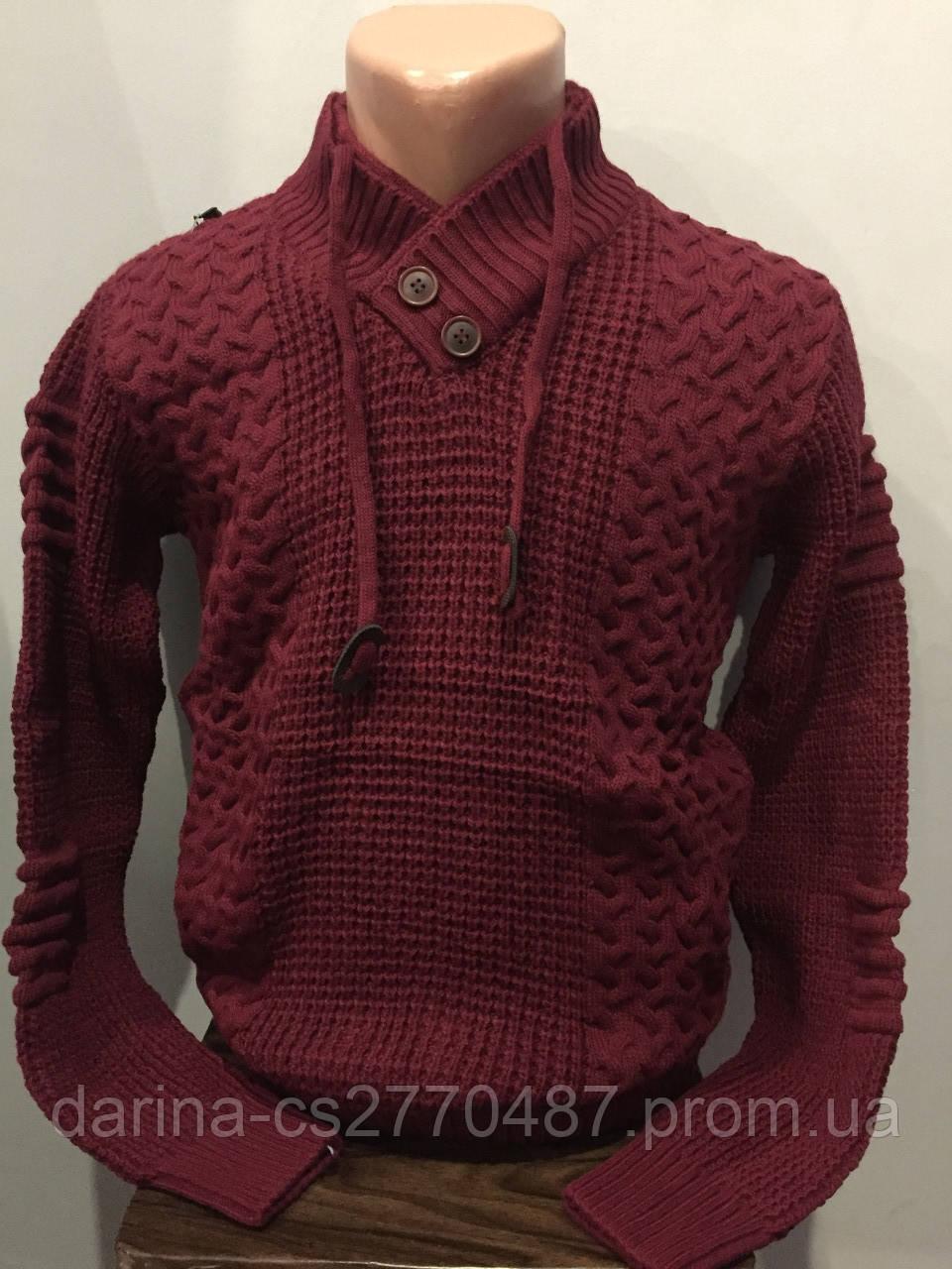 Зимний мужской свитер L,XL