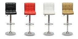 Барный стул Hoker MONZO с регулированием высоты и поворотом сидения Эко кожа