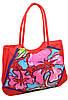 Стильная и вместительная пляжная сумка Podium 1353 red, красный