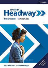 New Headway 5th Edition Intermediate Teacher's Guide with Teacher's Resource Center / книга для учителя