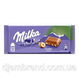 Шоколад Milka Haselnuss (100 Г)
