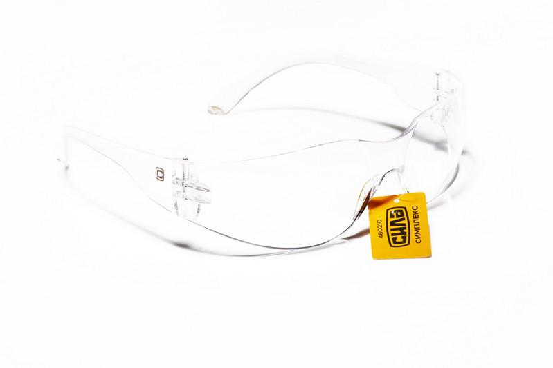 Очки защитные СИМПЛЕКС (прозрачные) СИЛА
