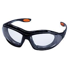 Набір окуляри захисні з обтюратором і змінними дужками Super Zoom anti-scratch, anti-fog (прозорі) Sigma
