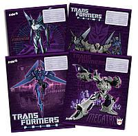 Тетради «Transformers» 24 листа, линия.