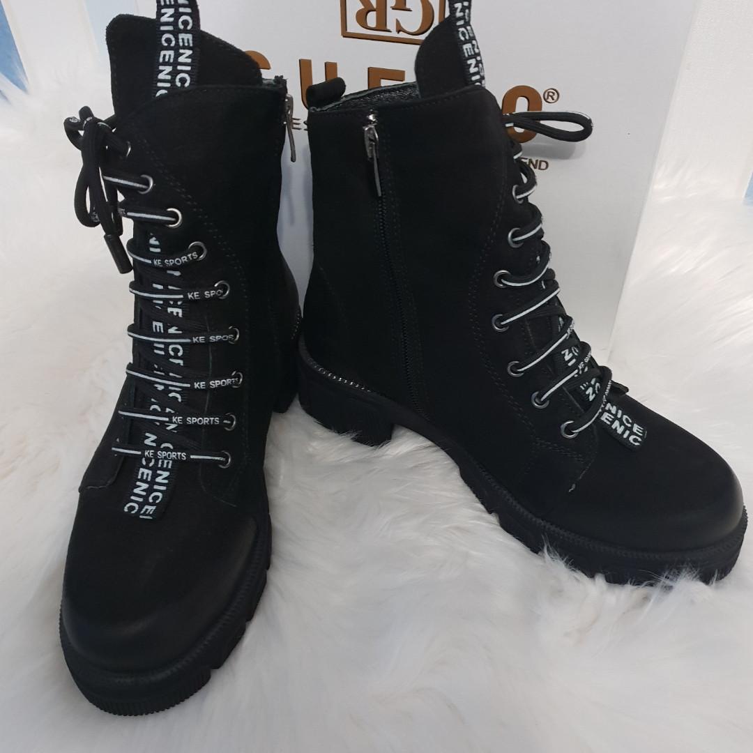 Женские зимние натуральные ботинки