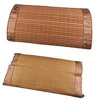Подушка антистресс с травами 50х30 см из ротанговой пальмы и бамбука (47701.001)