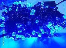 Новорічна світлодіодна гірлянда 300 led синя Six Cornered, фото 2