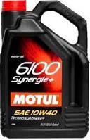Масло моторное 10W-40 (5л.) MOTUL 6100 Synergie+