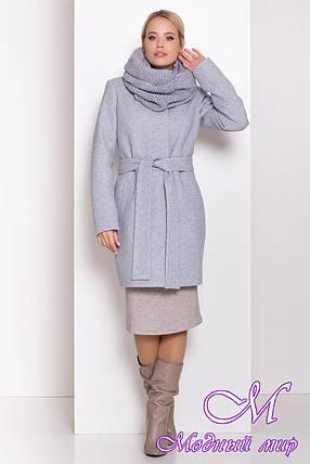 Женское зимнее пальто с хомутом (р. S, M, L) арт. Г-82-95/44406, фото 2