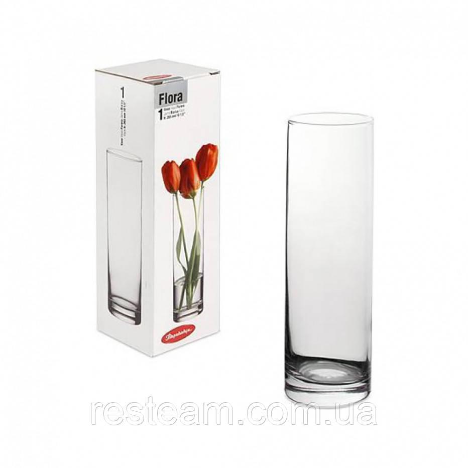 """Ваза стекло цилиндр (h-26см) """"Flora"""" 43767"""