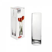 """Ваза стекло цилиндр (h-26см) """"Flora"""" 43767, фото 1"""