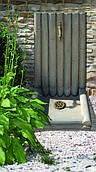 Фонтан для сада Бамбуковый из натурального камня PIERRA Франция