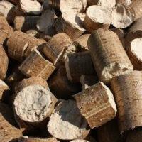 Топливные брикеты лиственных пород древесины.Мешок 30 кг, фото 1
