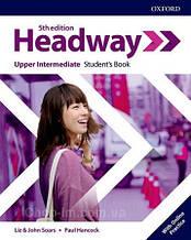 Учебник New Headway 5th Edition Upper-Intermediate Student's Book with Online Practice