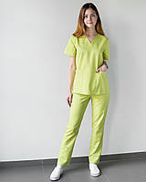 Медицинский женский костюм Toronto lime, фото 1