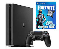 Игровая приставка Sony PlayStation 4 Slim (PS4 Slim) 500Gb + Fortnite Neo Versa Bundle